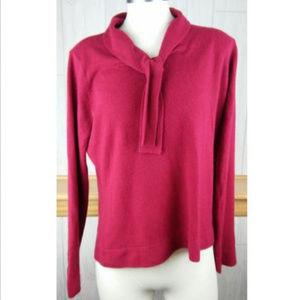 Emma James by Liz Claiborne ~ Women's Red Sweater
